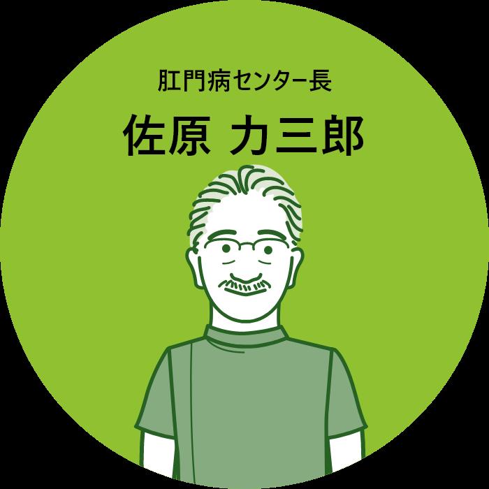 佐原 力三郎
